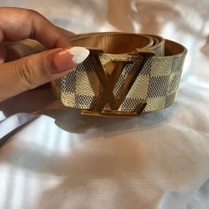 Louis Vuitton authentic belt